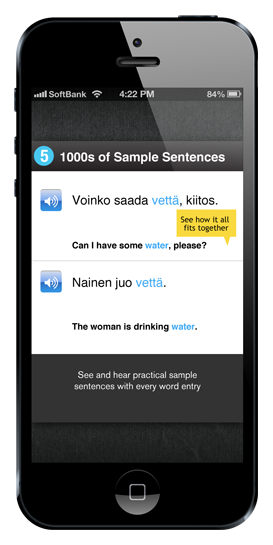Best Finnish Words & Phrases App - WordPower Finnish